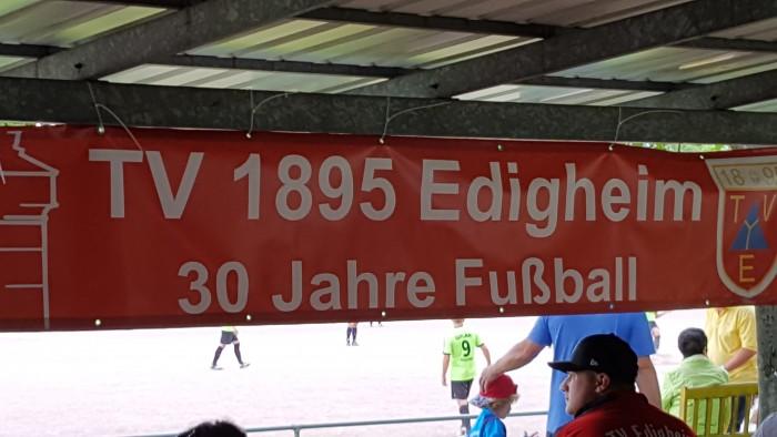 30 Jahre  Fußballabteilung