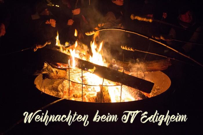 Weihnachten beim TV Edigheim – auch 2018 mit Stockbrotgrillen und Feuerzangenbowle